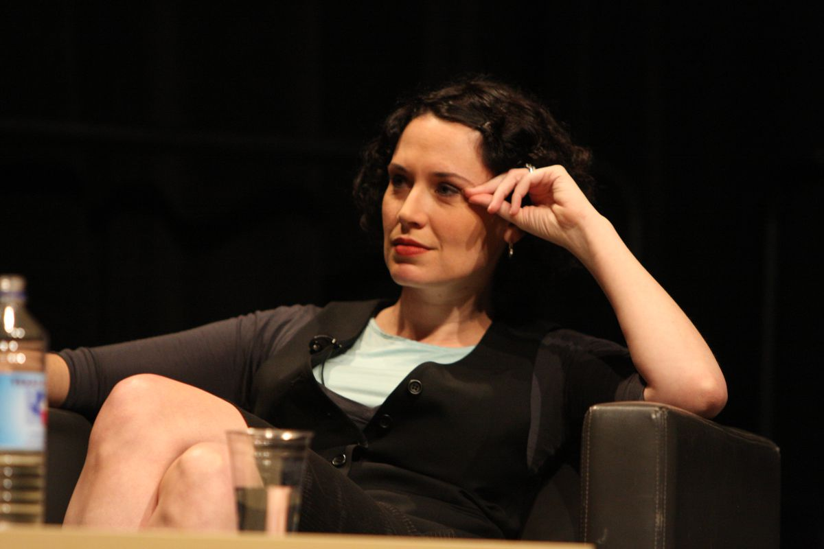 Journalist Sarah Lacy onstage at South By Southwest