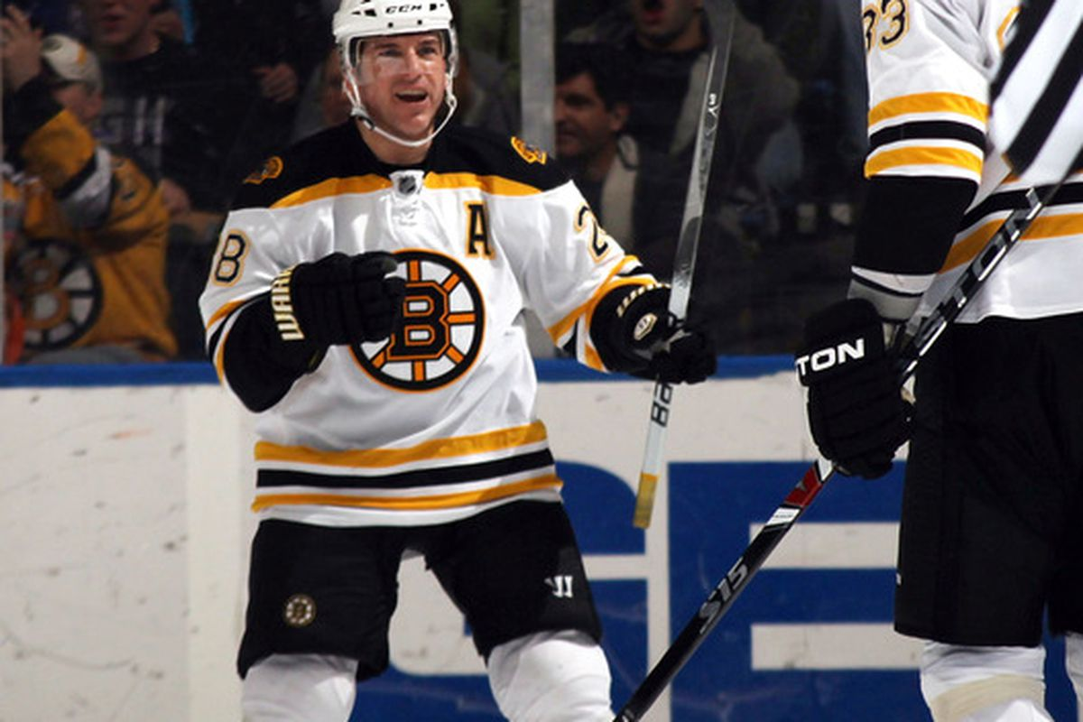 The last time the Bruins scored a power play goal, this guy still played for them!