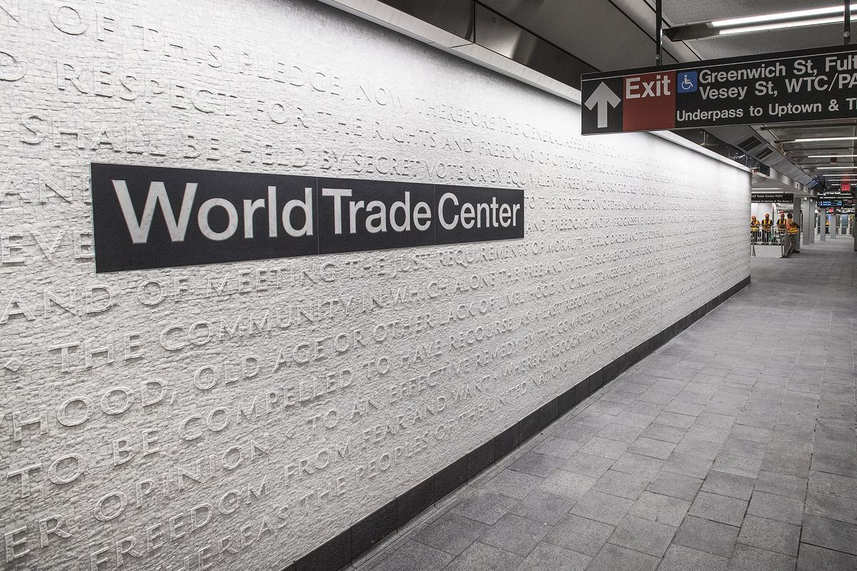 Cortlandt Street Subway Demolished On 9 11 Is Now Open
