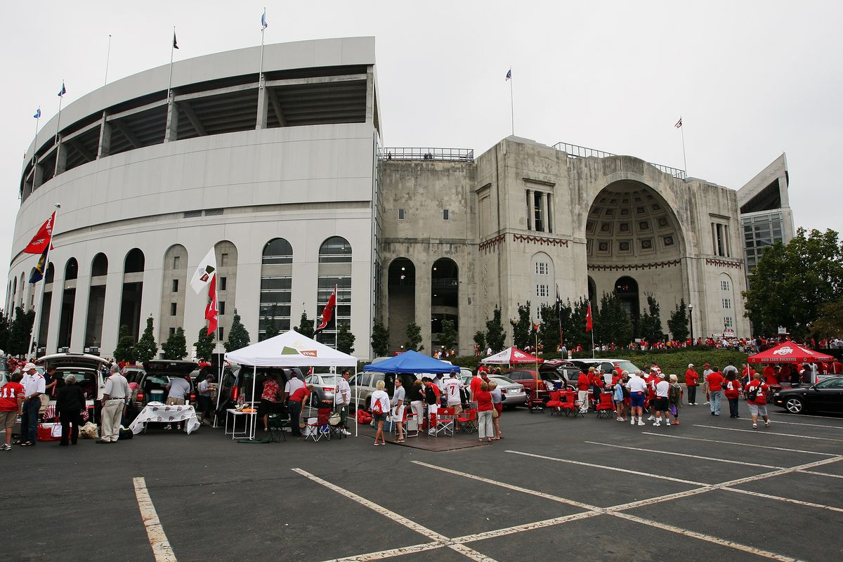 a guide to tailgating at ohio state land grant holy land
