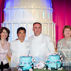 Roy Yamaguchi and José Andrés served as hosts for the centennial celebration.