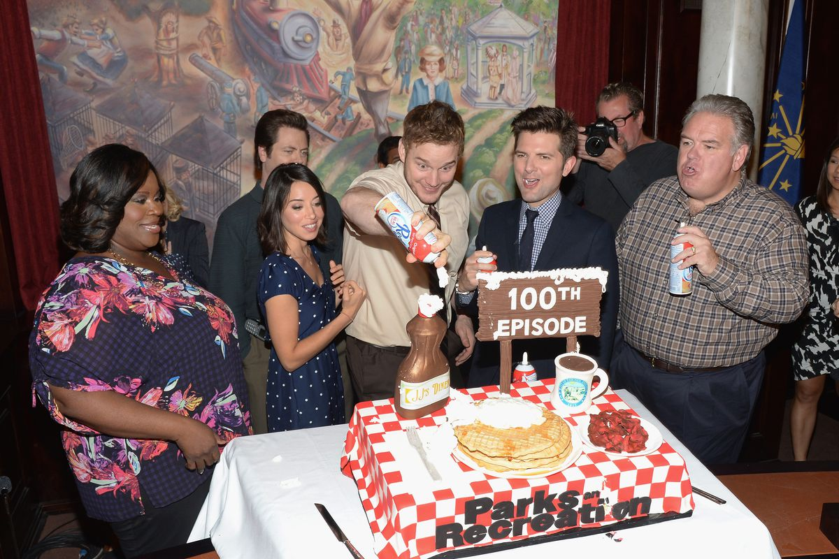 NBC 'Parks And Recreation' 100th Episode Celebration