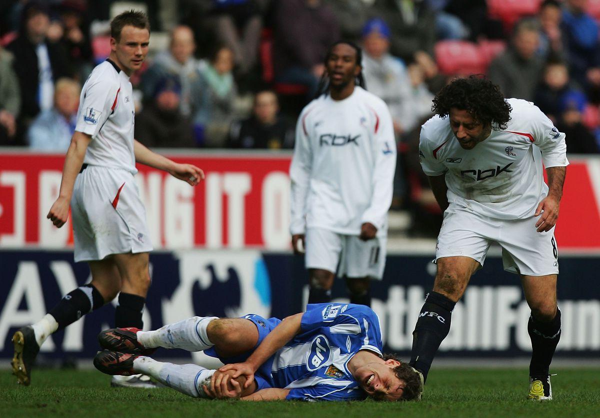 Wigan Athletic v Bolton Wanderers - Premier League