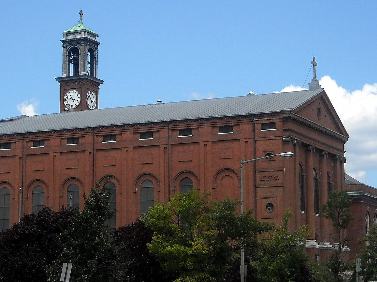 St. Aloysius Church.
