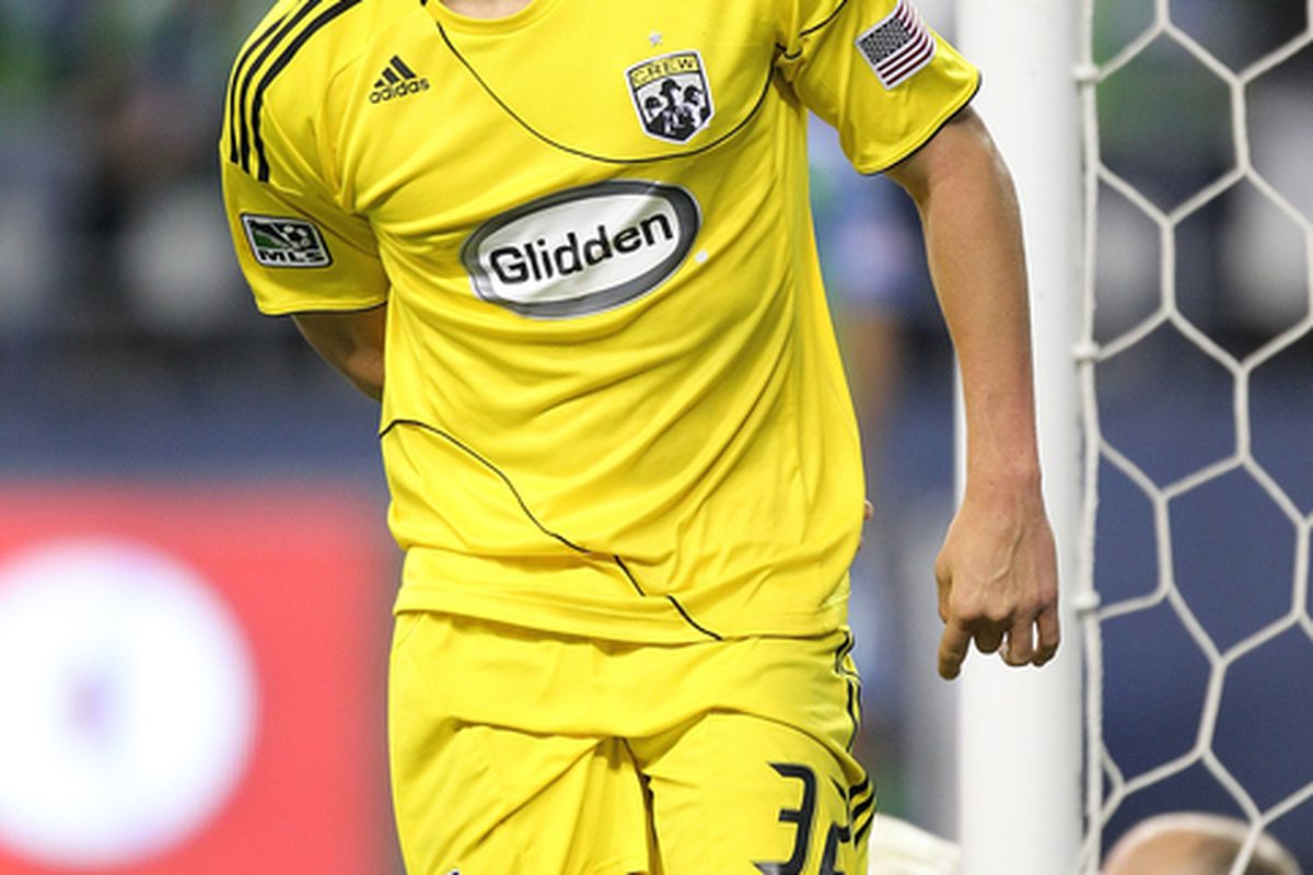 Steven Lenhart, now with the San Jose Earthquakes, will look to earn the result against his old team, the Columbus Crew.