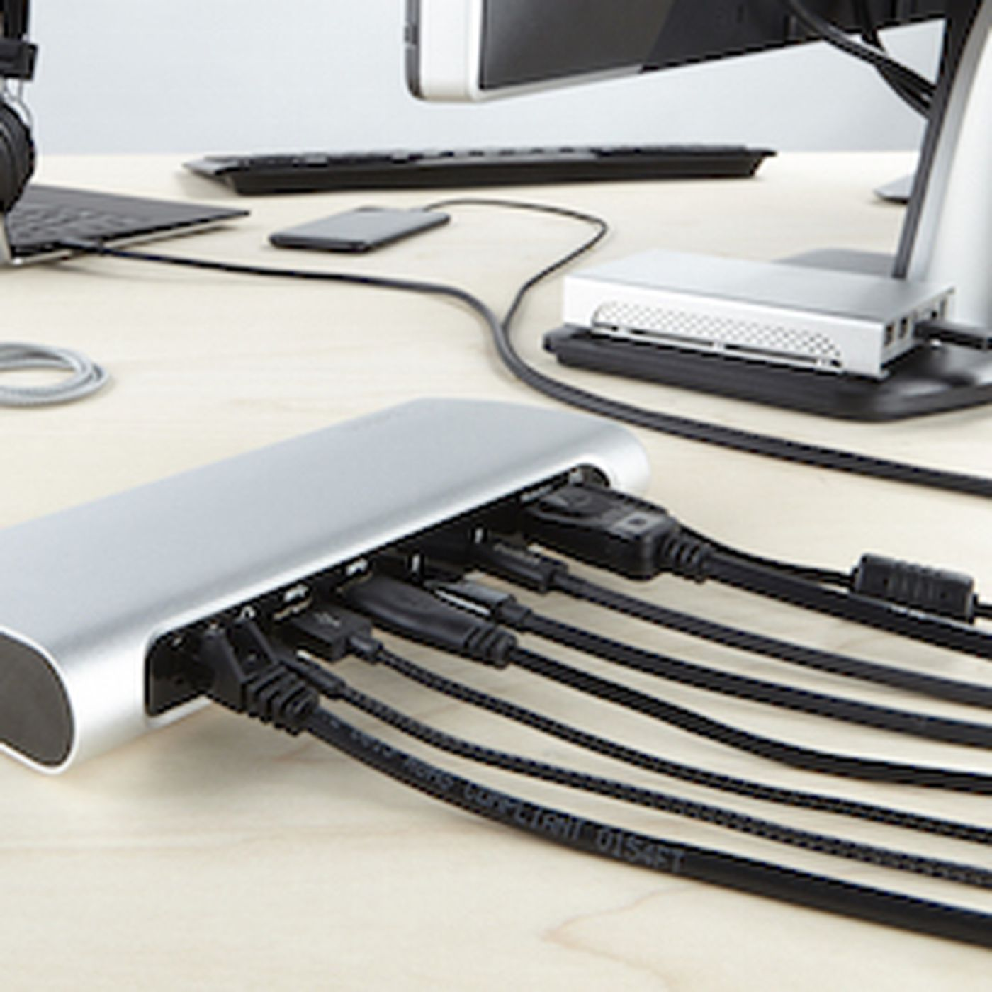 Belkin's Thunderbolt 3 dock can connect your PC to 8