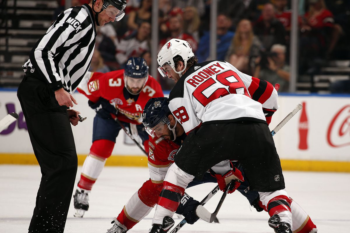 cheap for discount 23f50 0ffec Which Depth Forwards Make the Devils' Opening Night Roster ...