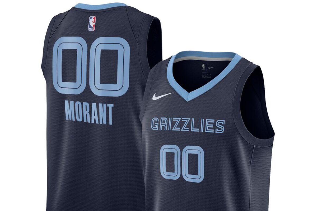 new style 2cf76 14a80 The Ja Morant Memphis Grizzlies Nike jersey has dropped ...