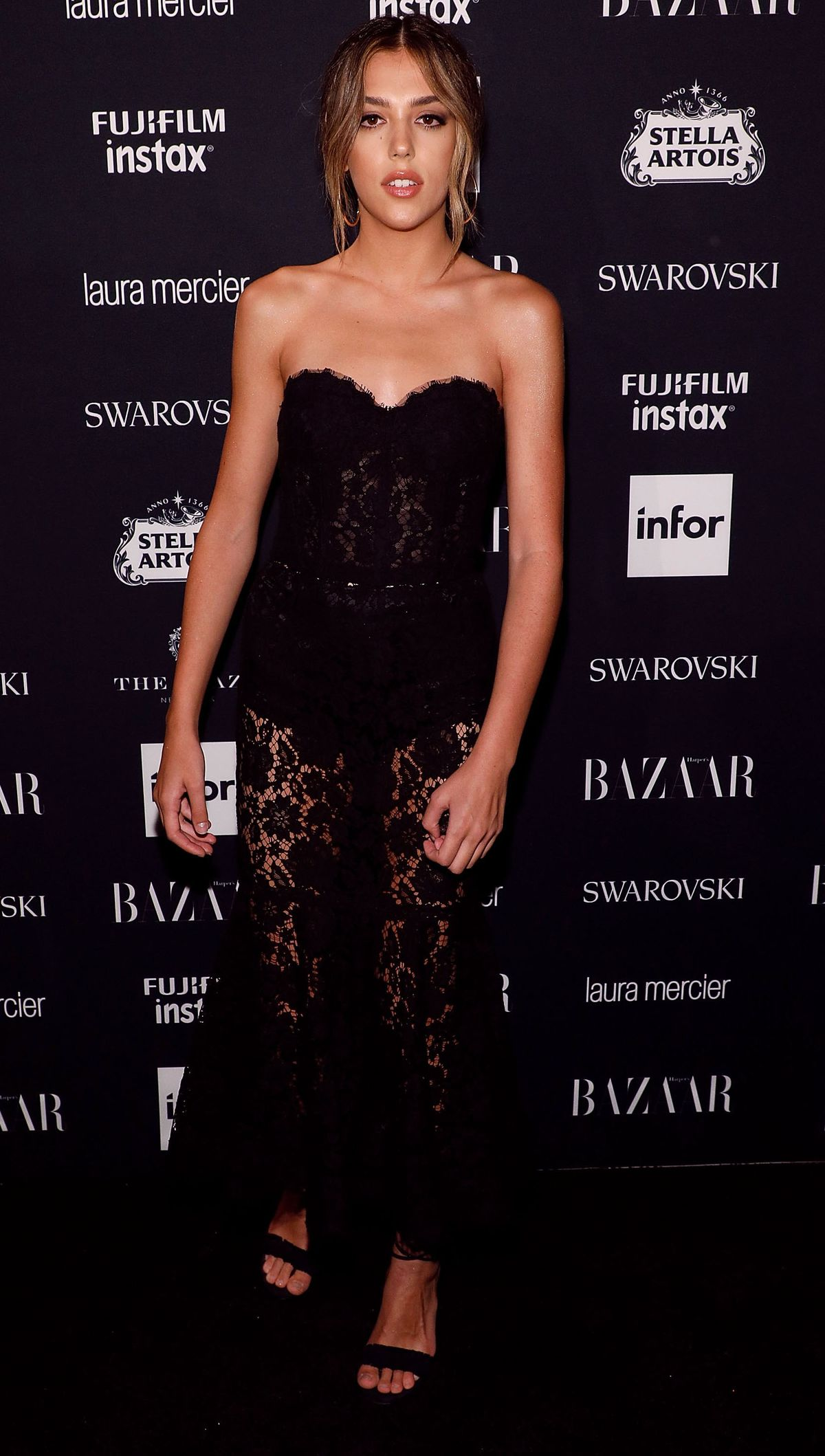 Sistine Stallone attends the 2017 Harper ICONS party at The Plaza Hotel on September 8, 2017 in New York City.