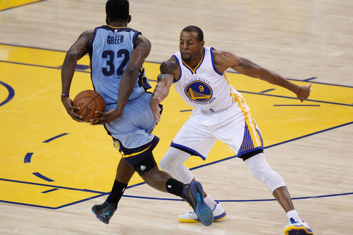 Jeff Green vs. Andre Iguodala is an under the radar matchup that will help determine the outcome of tonight's contest