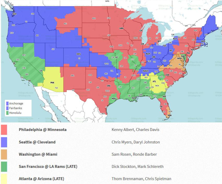 Seattle Seahawks vs. Cleveland Browns: Week 6 TV Listings