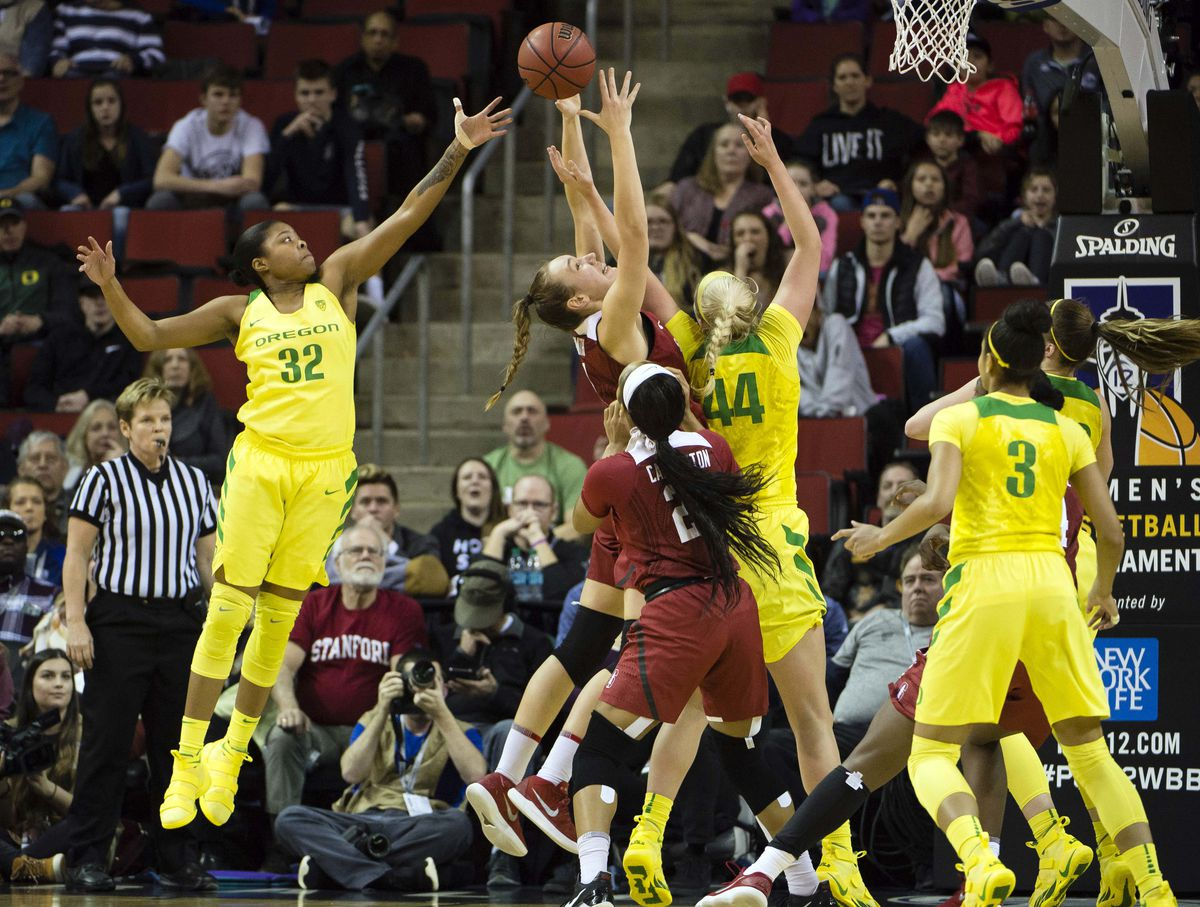 NCAA Womens Basketball: Pac-12 Conference Tournament-Oregon vs Stanford