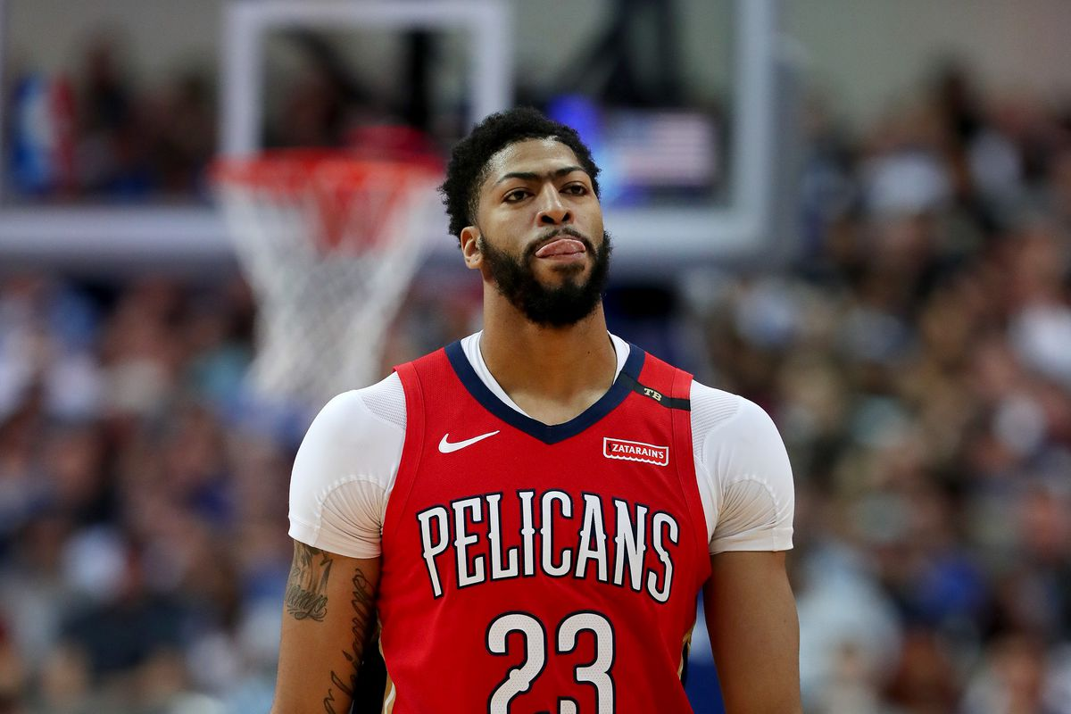 Pelicans benched Anthony Davis out of pettiness so he couldn't ...