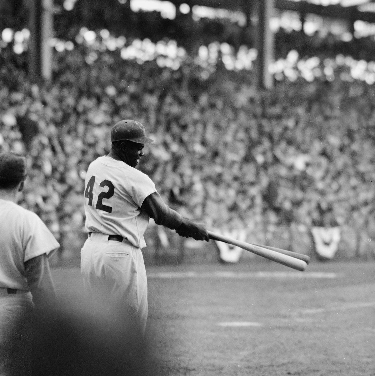 Jackie Robinson At 1955 World Series