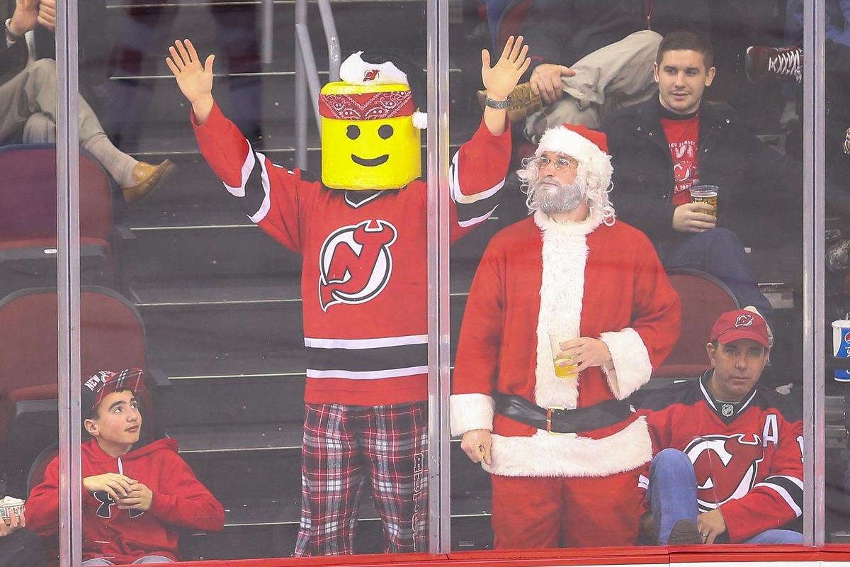 Santa's scouting report on the Devils was harsh.
