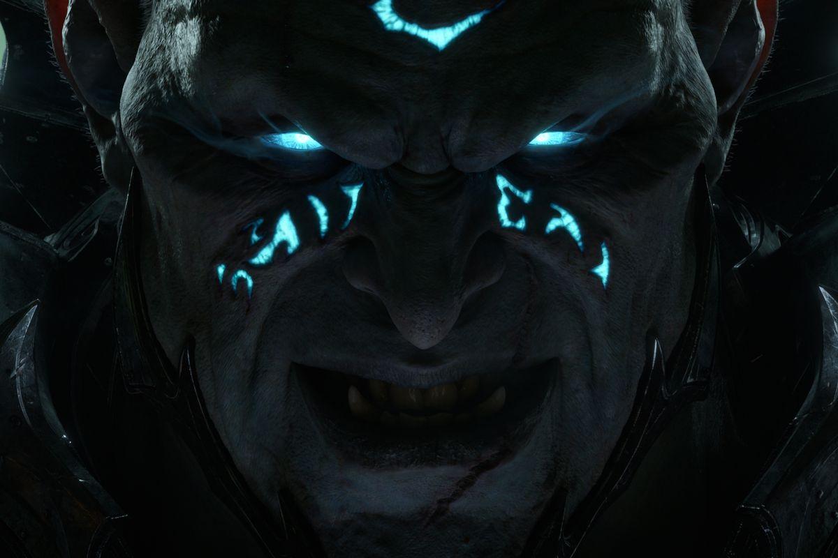 World of Warcraft - the Jailer stares menacingly into the camera