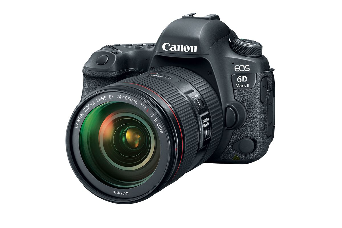 canon s long awaited 6d mark ii is a huge upgrade but it s missing 4k video the verge. Black Bedroom Furniture Sets. Home Design Ideas
