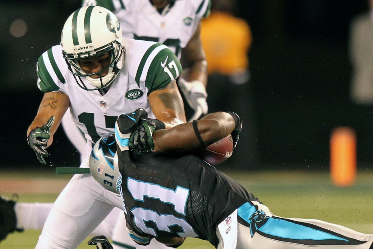 New York Jets wide receiver Jordan White just didn't do enough!