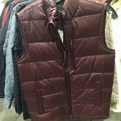 Puffer vest, $60