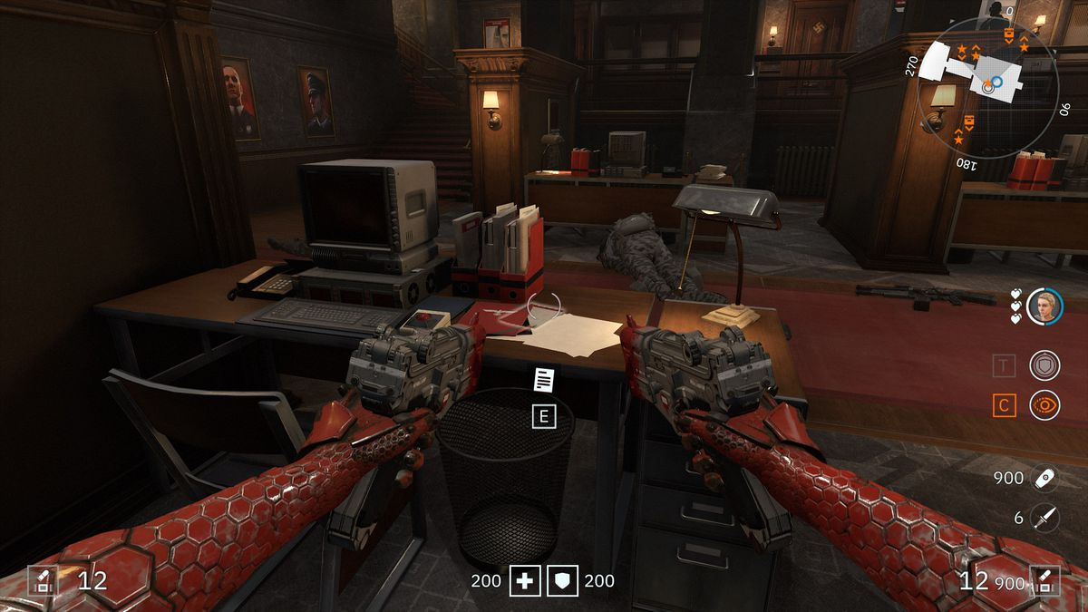 Wolfenstein: Youngblood Readable 60 Shriver's Note collectibles