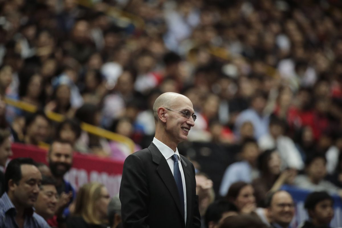 NBA Commissioner Adam Silver said earlier this week that no decisions about the rest of the season, including whether play can resume, would occur before May.