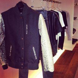 Riri bomber jacket, $1,350.