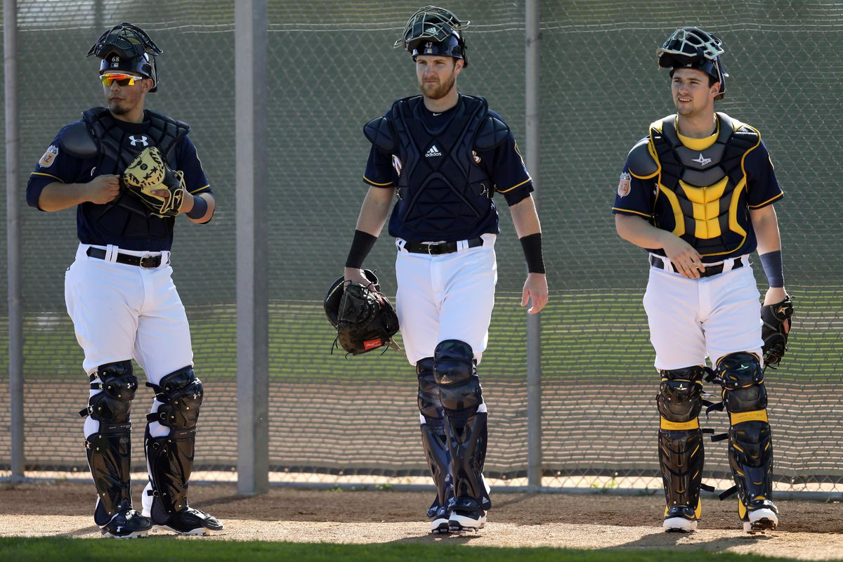 MLB: Milwaukee Brewers-Workouts