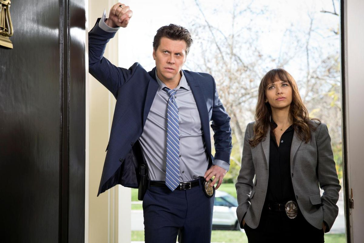 Jay Geils and Angie Tribeca, on the case and always dubious.