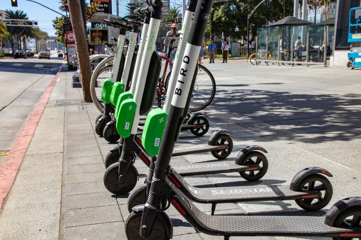 Scooter Rental San Francisco >> Bird Electric Scooters Return To San Francisco Curbed Sf