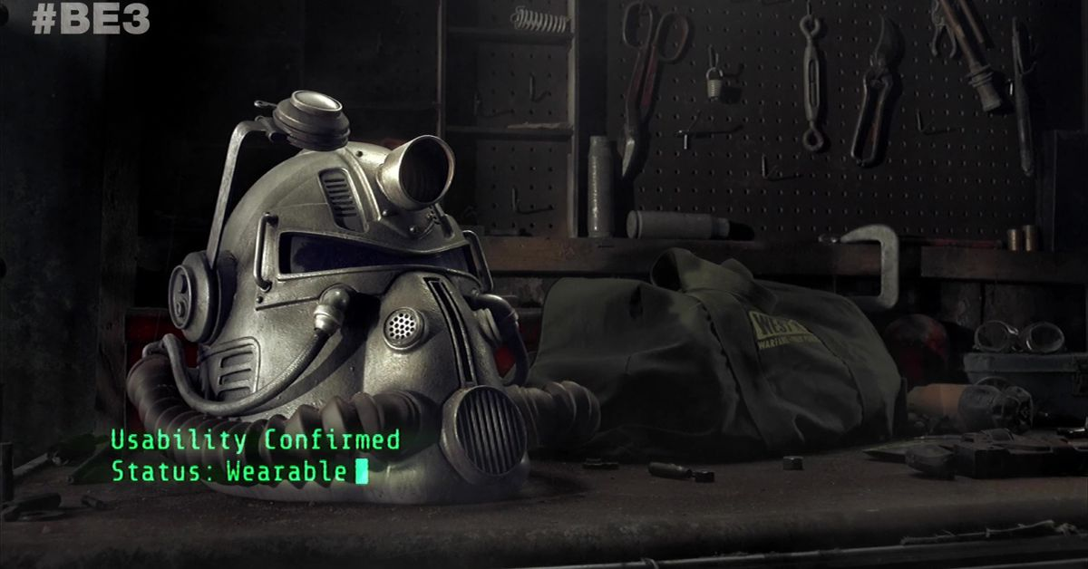 Fallout 76 Power Armor Edition includes a wearable helmet