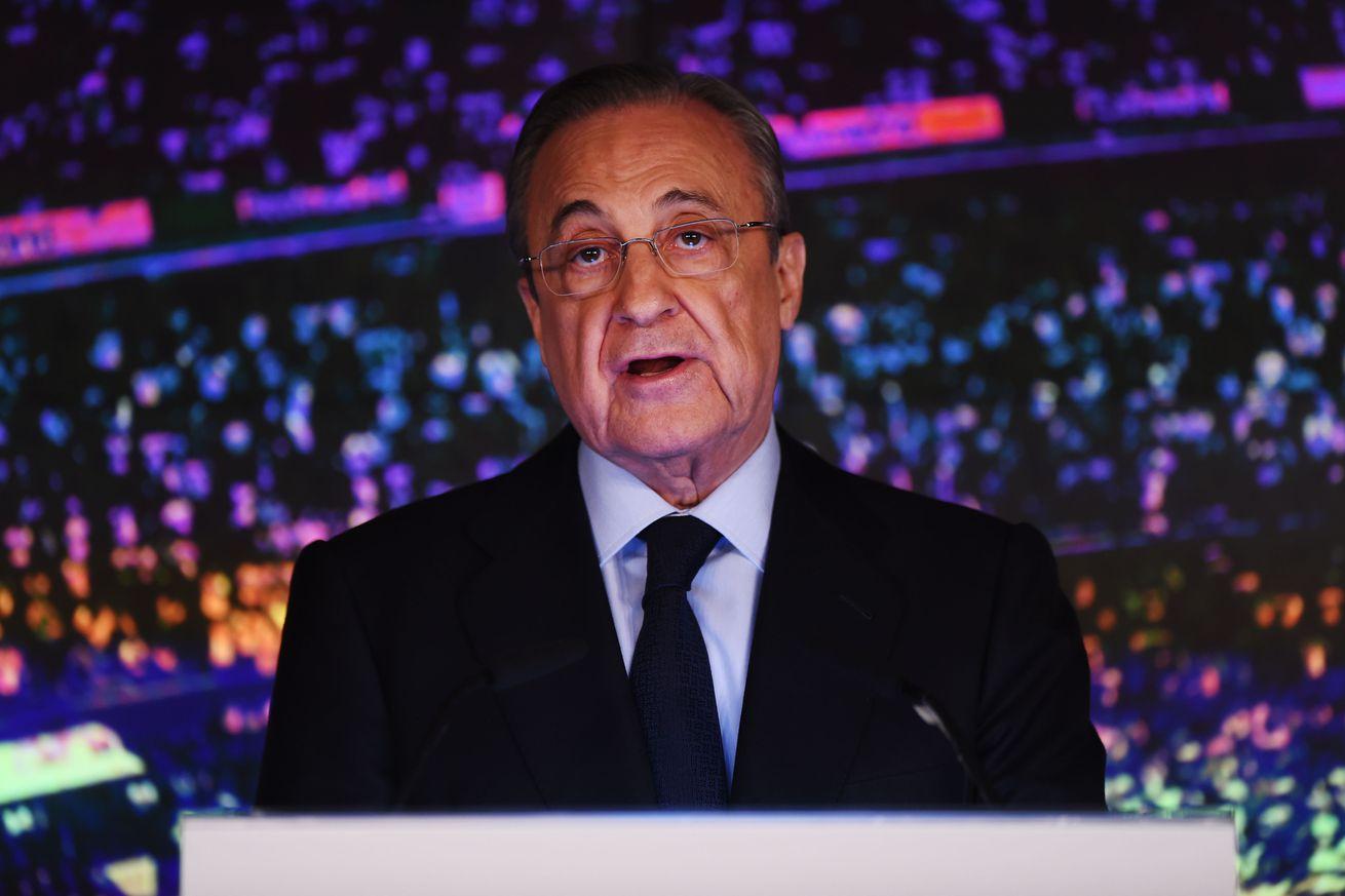 FULL Florentino Perez Interview ? Quotes on Ramos, Lopetegui, Hazard,  Odegaard & More