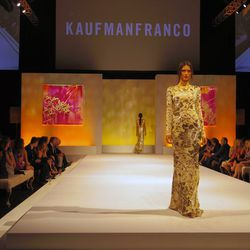 Runway show featuring KaufmanFranco's S/S 2014 collection at Elyse Walker's ninth annual Pink Party.