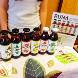 <b>Runa</b> also hooked up some clean energy refreshments...