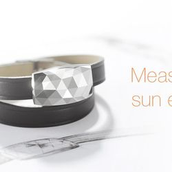 The June wristband from Netatmo is a bracelet equipped with a smart sensor that tells you when you've had too much sun. Synch it up to find out how to take better care of your skin.