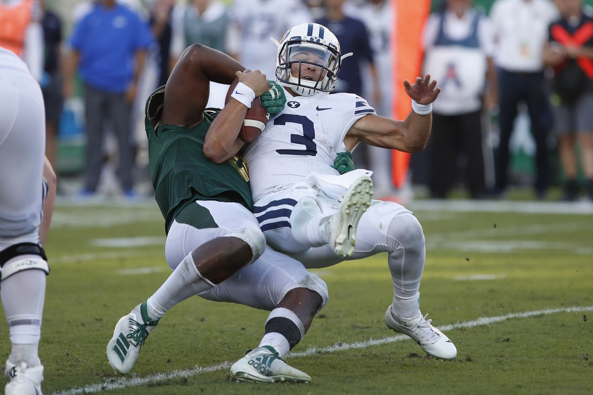 COLLEGE FOOTBALL: OCT 12 BYU at USF
