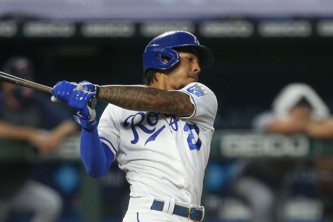 MLB: AUG 22 Twins at Royals