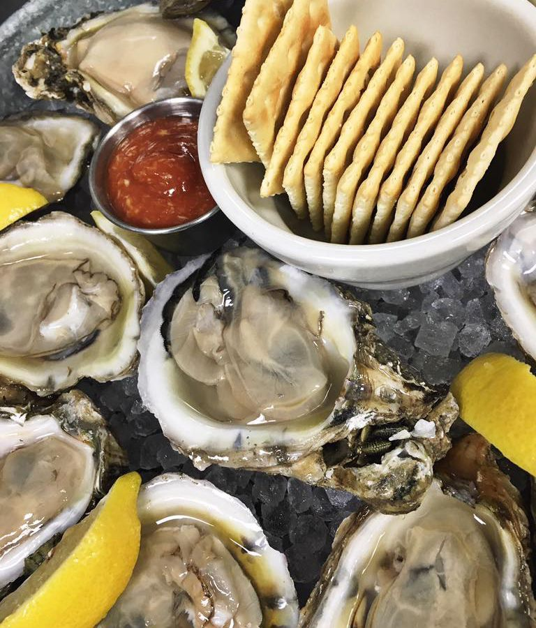Oysters from Lucy's