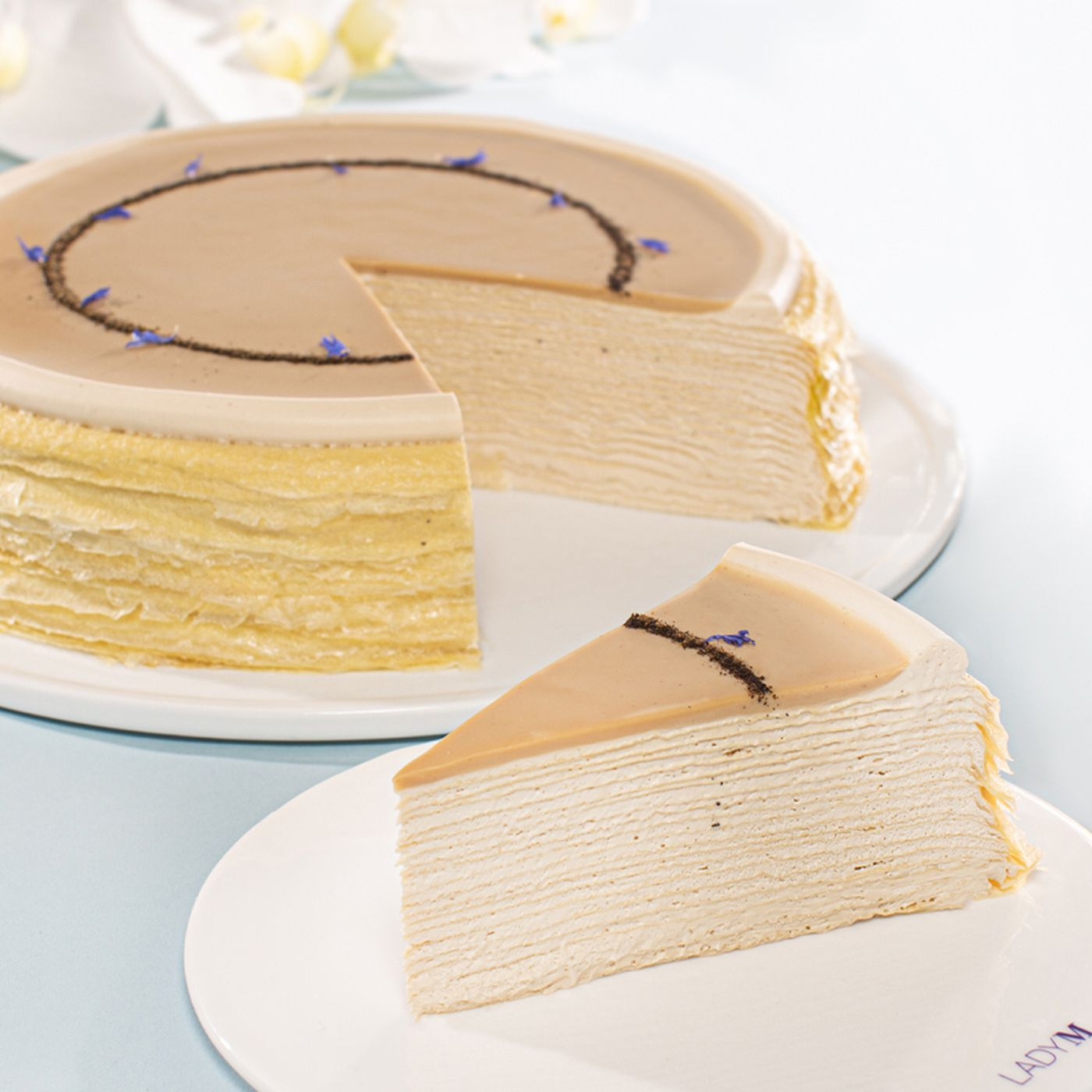Awe Inspiring Nyc Bakery Lady Ms Famous Mille Crepes Pop Up In Dallas This Funny Birthday Cards Online Hetedamsfinfo