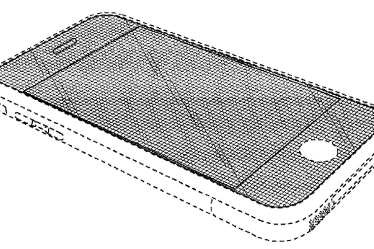 iPhone design patent image