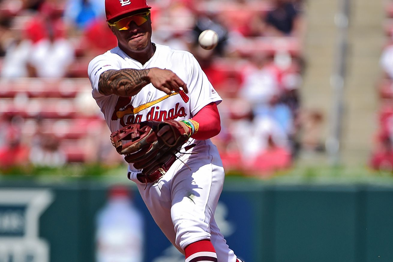 Wong's Defense and 3rd Triple in 3 Days Highlights in Cards' 3-1 Victory over Giants