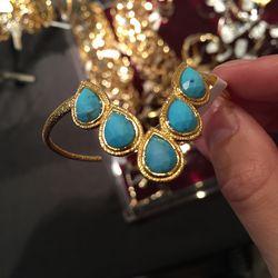 Cuff bracelet, $75
