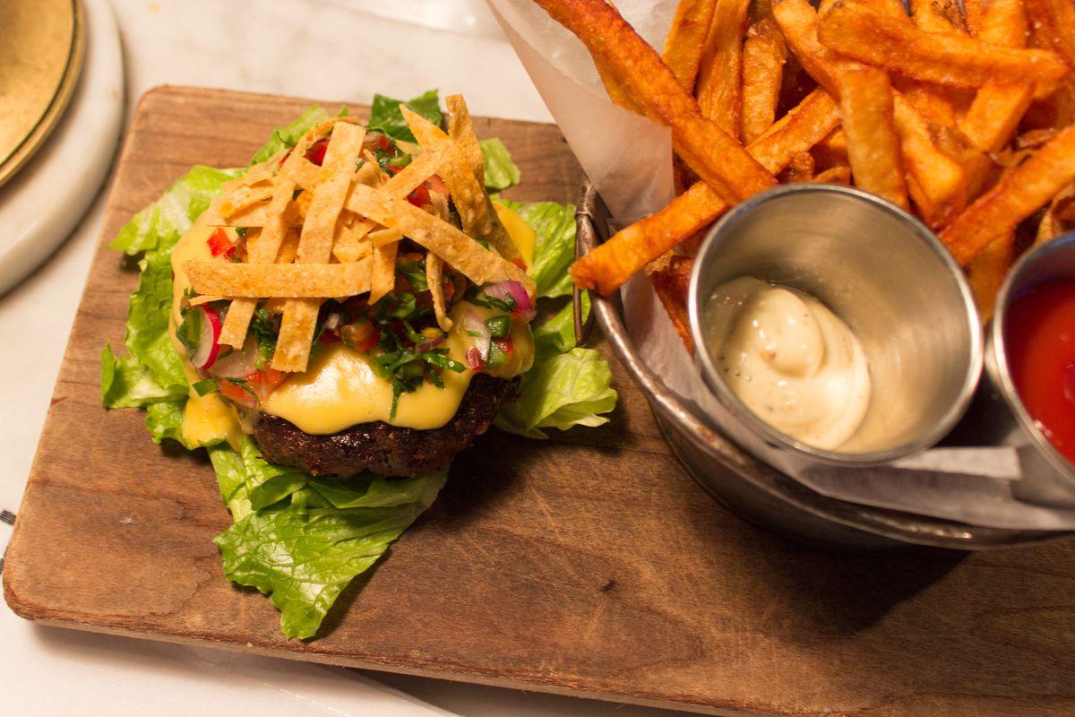 The Russell House Tavern secret burger
