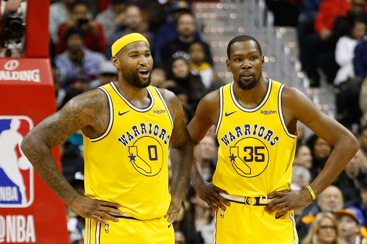 Demarcus Cousins Has Choice Words For Fans Who Cheered After Kevin Durant Injury A Sea Of Blue