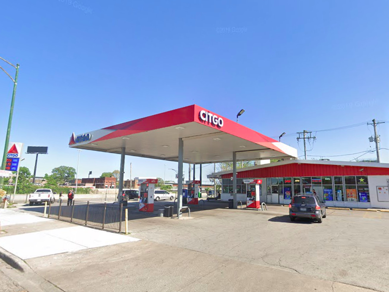 Citgo gas station, 251 W. 63rd St.