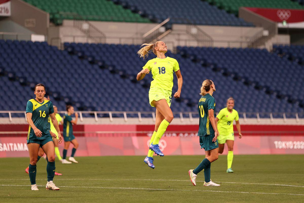 Sweden v Australia: Women's Football - Olympics: Day 1