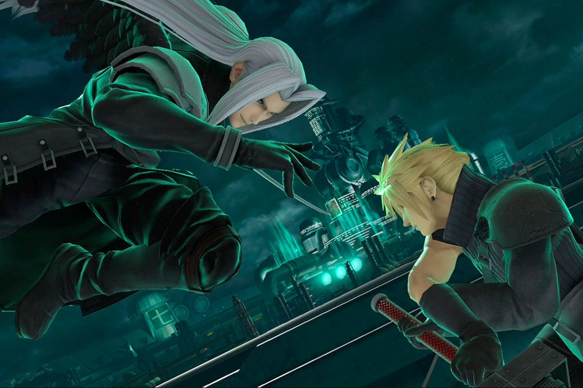 Sephiroth vs Cloud in Super Smash Bros. Ultimate
