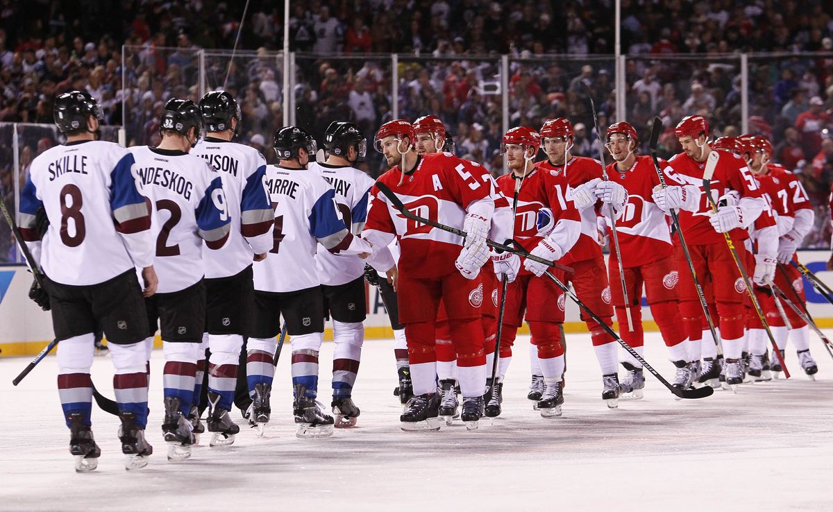 NHL: Stadium Series-Detroit Red Wings at Colorado Avalanche