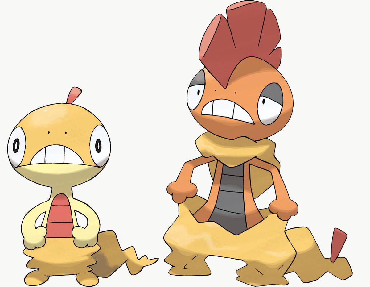 Scraggy and Scrafty are Pokémon Sword exclusives