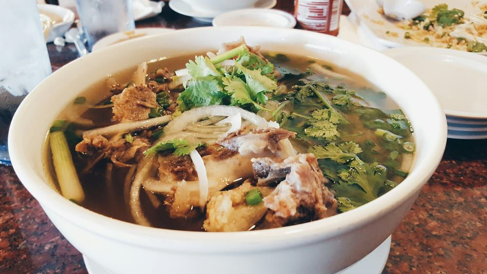 Oxtail pho at Viet Noodle Bar