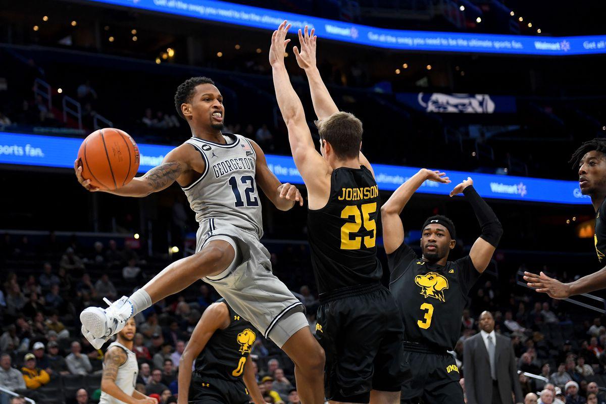 UMBC vs Georgetown men's basketball